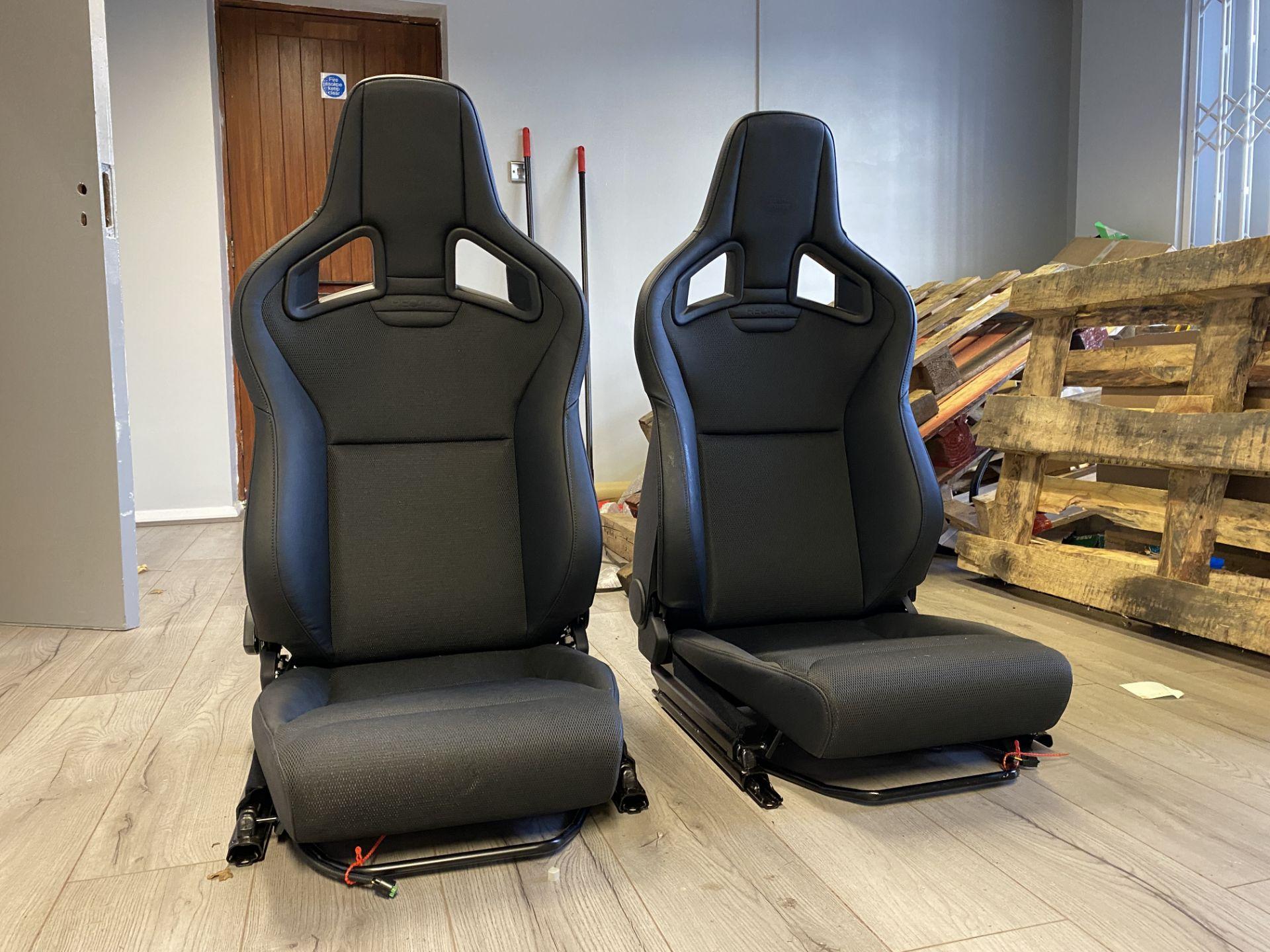 Pair of LH & RH Genuine Recaro Defender Heated Seats - Image 2 of 35