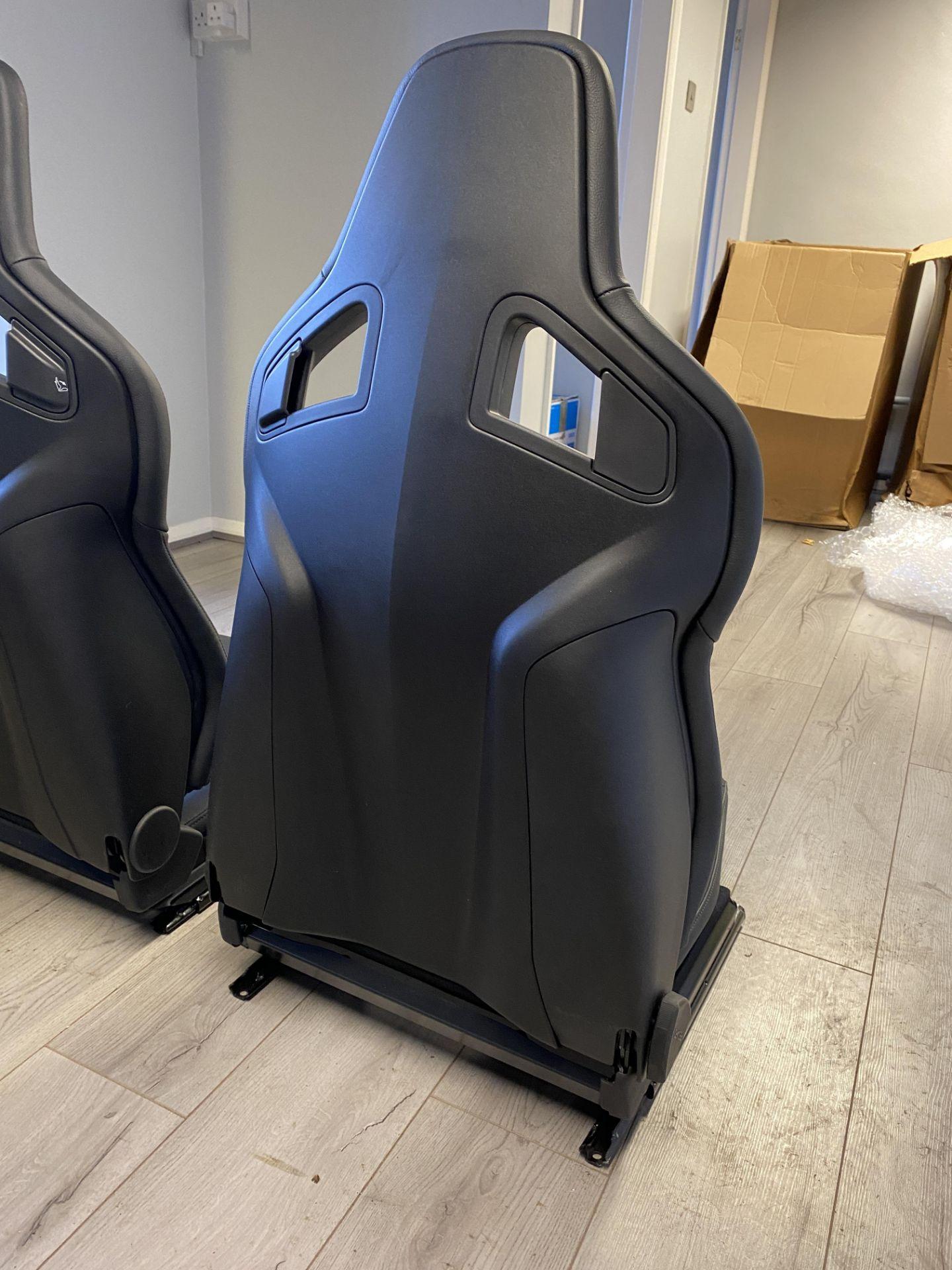 Pair of LH & RH Genuine Recaro Defender Heated Seats - Image 6 of 35