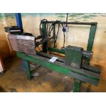 Migatronic Welding Rig with Fabricated Wheel/Propshaft Welding Rig & Controls