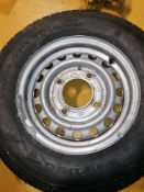 1: 165 80 R13 96/94N Fitted to MEFRO 41/2 x 13 ET 26 Steel Wheel DOT 49.14