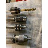 4: Various Machine Chucks, Rotating Centres, Arbors