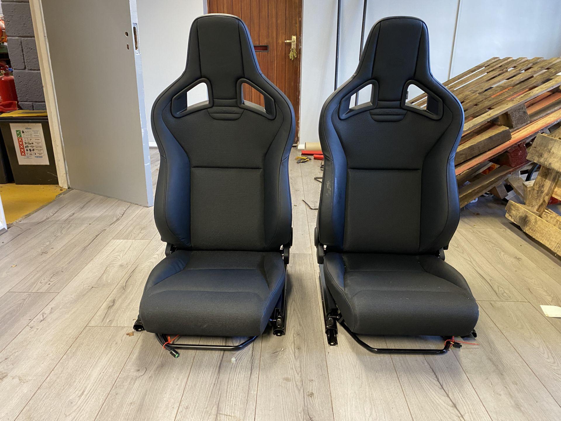Pair of LH & RH Genuine Recaro Defender Heated Seats
