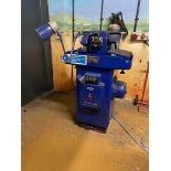 ABWood Model CGLA, Twin Station Diamond Wheel Grinder/Lapping Machine, 3 Phase Machine No: 1716.