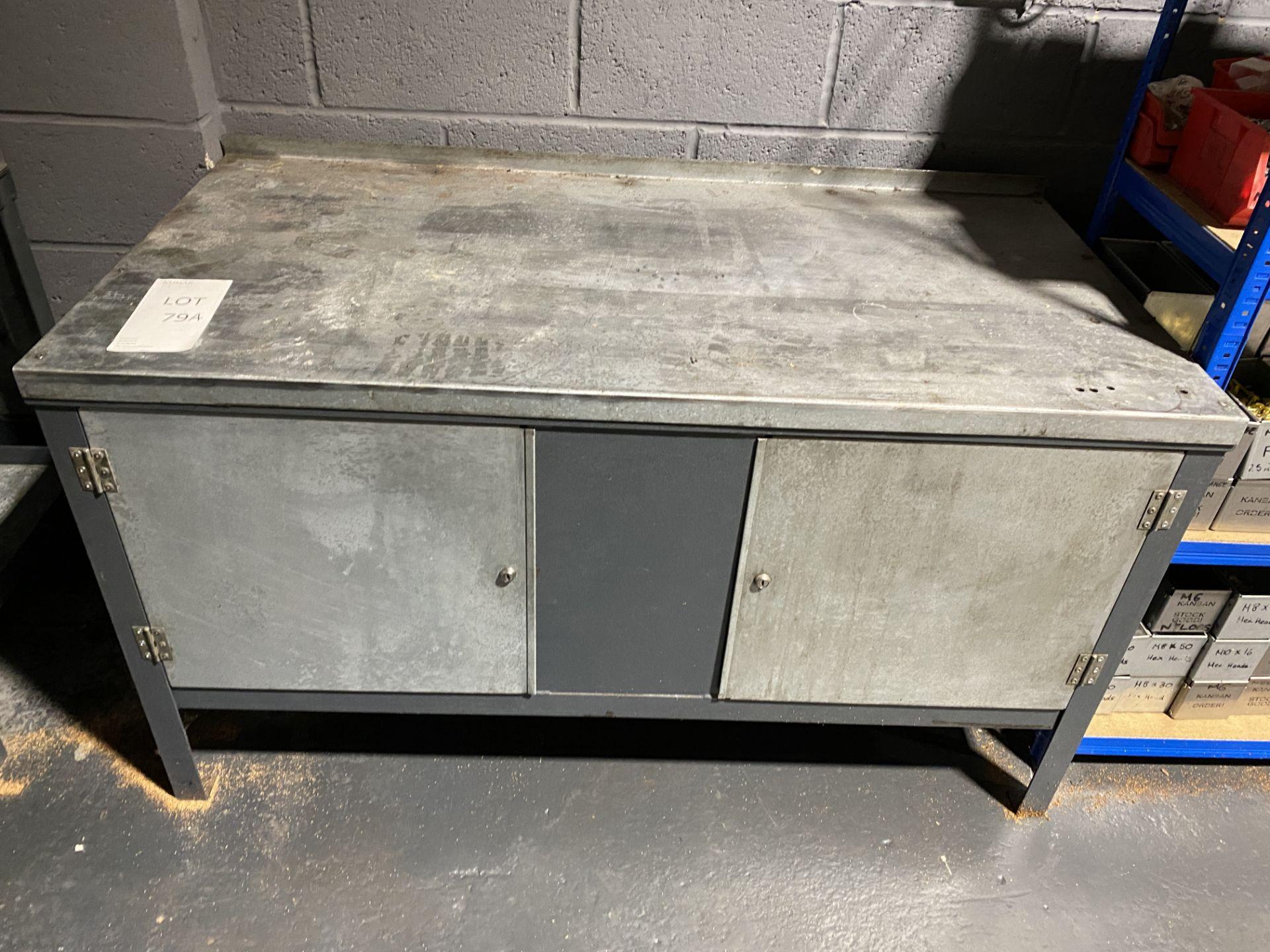 Metal Workbench/Cupboard