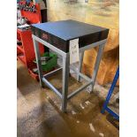 """The Surface Flatness Granite Table 24"""" x 24"""" Serial No: 5263"""