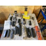 Assorted Tailstock Die & Tool Holders to include Posi-Thread & Seco & Omega (Does not include table)