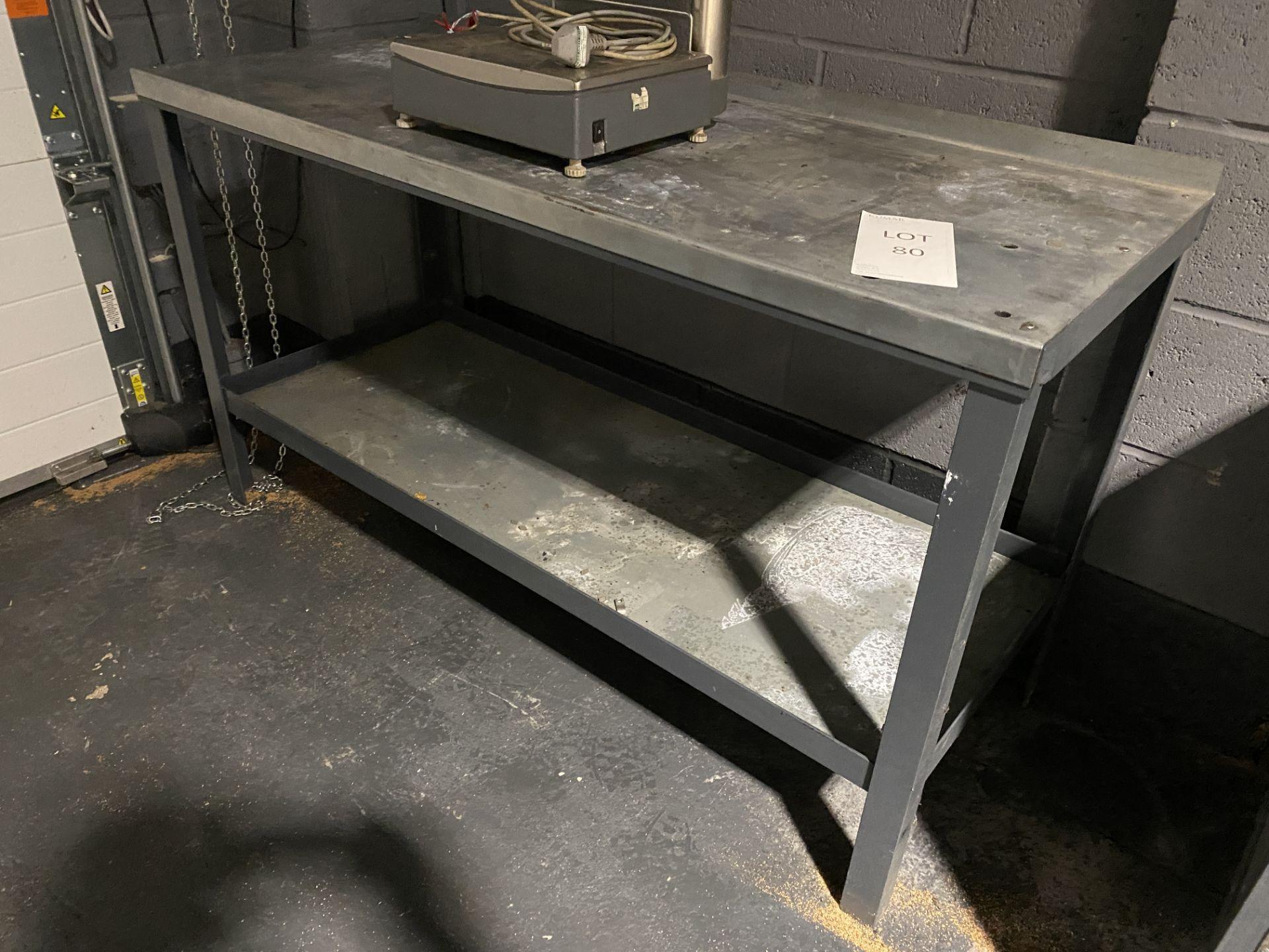 Metal Workbench - Image 2 of 3