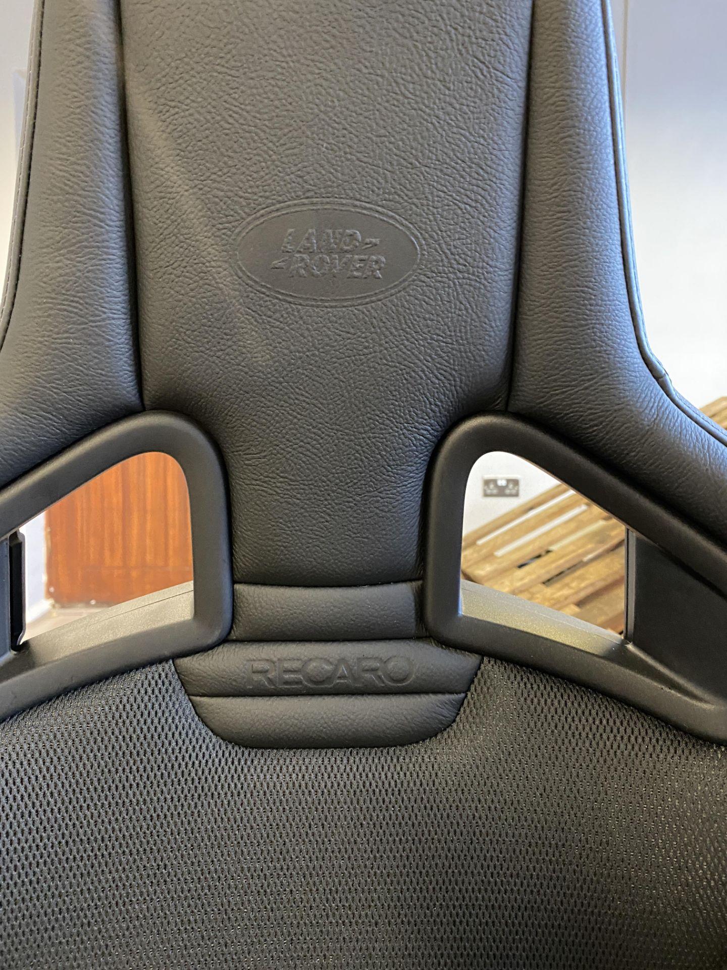 Pair of LH & RH Genuine Recaro Defender Heated Seats - Image 13 of 35
