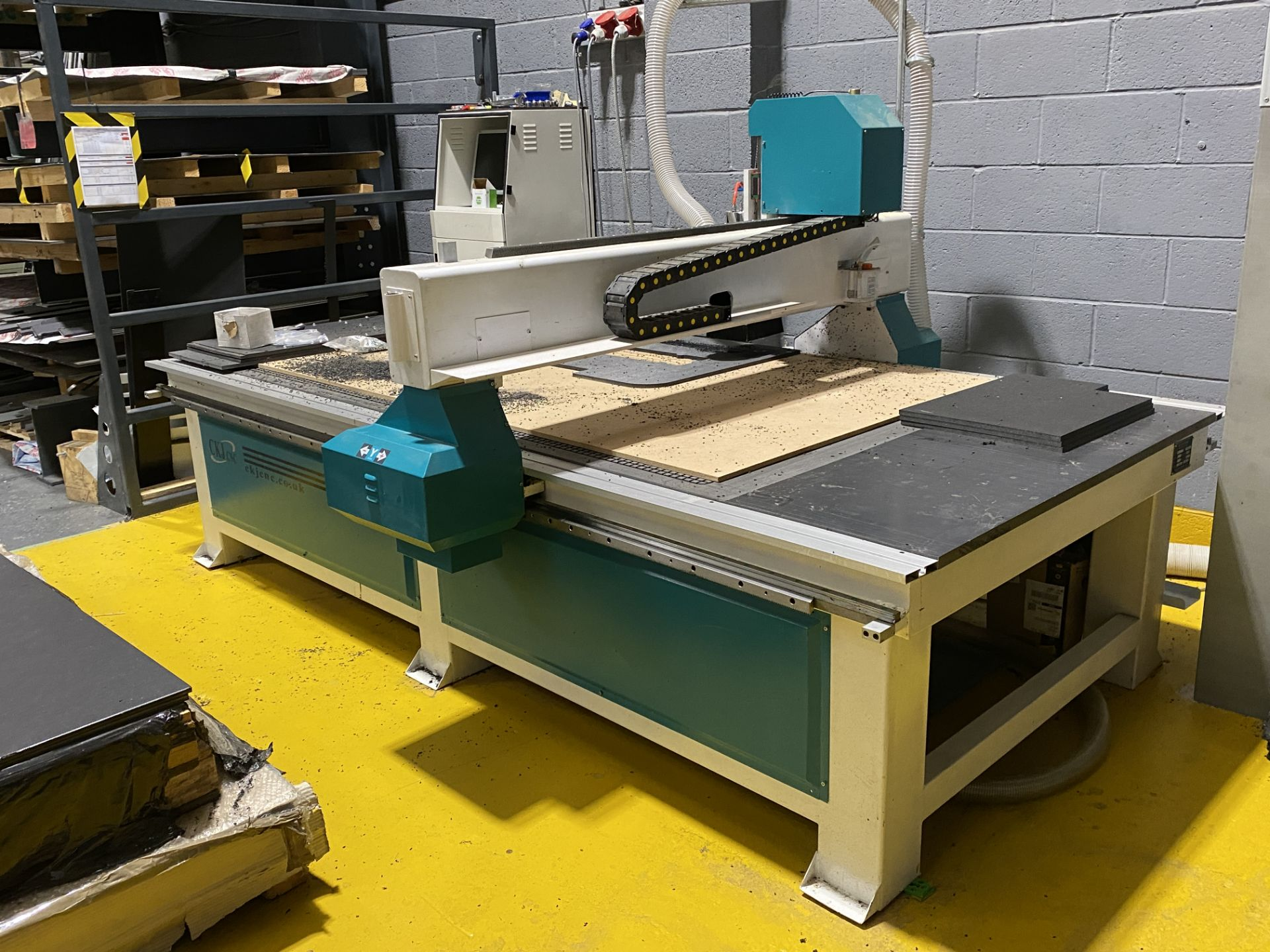CKJ Model 1325, CNC Router, Working Area 1300mm x 1500mm - Image 2 of 8