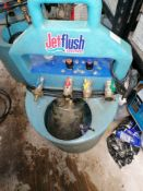 Jetflush sentinel power system flushing unit Serial number DCEF0Z
