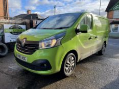 Renault Trafic SL27 Sport Energy, 1,598cc Diesel, 6 Speed Manual, Panel Van, Registration No. FM65