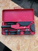 Unipipe Pipe forming hand tool
