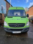 Mercedes Sprinter 313CDi, 2,143cc Diesel, 6 Speed Manual, MWB Panel Van, Registration No. T444