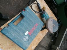 "Bosch 110 volt Hammer drill and Makita 9"" Grinder 110 volt model Number 9609BK"