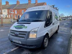 Ford Transit 100 T280 FWD, 2,198cc Diesel, 6 Speed Manual, LWB Panel Van, Registration No. S222