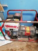 Honda EP295C Petrol generator Serial Number 84101095DA2