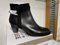 Regarde Ciel 6 Pairs: Glove/Etna Black Boots Sonia-76 Var. 5301Sizes 38 - 41 (RRP £99)