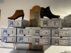 Gabor 5 Pairs: Microvel (Micro) New Whiskey Boots 55.850.48. Sizes 3 - 8 (RRP £79) Gabor 5 Pairs: