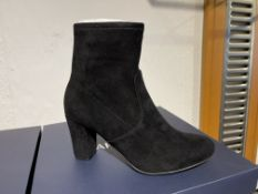 Caprice 13 Pairs: Black Stretch Ankle Boots 9-25300-25 044. Sizes 3 - 6.5 (RRP £59)