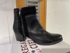 Regarde Ciel 7 Pairs: Delice/Etna/Fence Black/Black/ Grey Boots Isabel-65 Var. 5256. Sizes 37 -