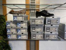 Gabor 6 Pairs: Alligatorlack Schwarz Wechselfubbett Shoes 52.535.97. Sizes 5 - 6.5 (RRP £95) Gabor 7