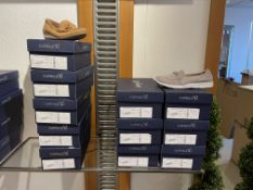Caprice 6 Pairs: Grey Suede Trainers 9-24752-24 238. Sizes 4 - 6.5 (RRP £55) Caprice 5 Pairs: Tan