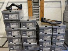 Gabor 9 Pairs: Lammnappa Schwarz Sandals 42.761.27. Sizes 4 - 7 Gabor 8 Pairs: Chiffon Midnight (