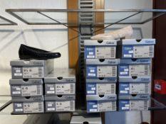 Gabor 5 Pairs: Alligatorlack Ocean Shoes 32.020.86. Sizes 4.5 - 6 (RRP £75) Gabor 8 Pairs: Tejus