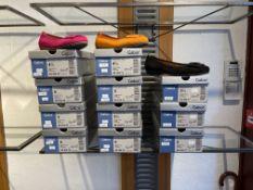 Gabor 4 Pairs: Samtchevreau Schwarz Hovercraft Shoes 44.164.17. Sizes 5.5 & 8 (RRP £89.99) Gabor 4