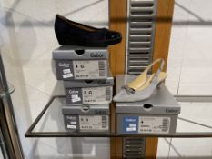 Gabor 3 Pairs: Punto/Lack HT Ocean Shoes 56.471.66. Sizes 4, 5 & 6 (RRP £79) Gabor 1 Pair: