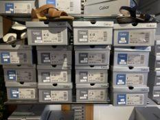 Gabor 8 Pairs: Vacchetta Peanut Sandals 42.761.54. Sizes 4 - 8 (RRP £85) Gabor 3 Pairs: Samtchevreau