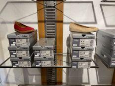 Gabor 5 Pairs: Nubuk Soft Rubin Shoes 42.451.48. Sizes 5, 5.5, 6.5 & 7.5 (RRP £79.99) Gabor 3 Pairs: