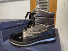 Caprice 9 Pairs: Black/Stone Co 9-26212-25 043. Sizes 3.5 - 7.5 (RRP £69.99)