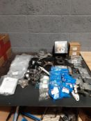Quantity of Landrover parts - Door Hinges -Brackets - Gear Shift Assembly - Wheel Bearing Assembly