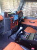 Genuine FCX Defender Outfitters Show Car- Defender Leather Interior Panels, Dashboard & Seats