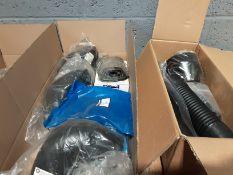 1 x Raised Air Intake Kit - 4 x Mirrow Head Part No MTC5084N - 3 x Air Ram Replacments Part No