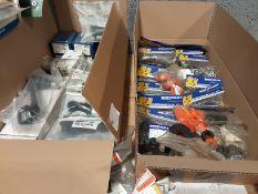Quantity of Landrover Suspention Parts Track Rod Ends -Pitman Arm -polyurethane Bushe Kits -Anti