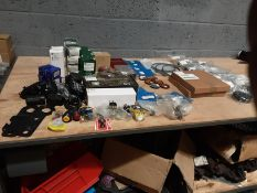 Quantity of Landrover Parts - Headlight Bezels - Lamp Plinths - Switches - Reflectors and More