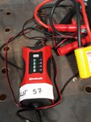 Einhell Battery Charger and Sealey Auto Surge Protector