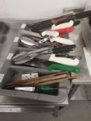 Cutlery Tray Containing General Kitchen Utensils