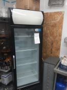 Coolpoint 13.6 cu ft - 375 Litre Commercial Glass Door Fridge With Canopy