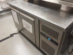 Blizzard HBC2 Two Door GN 1/1 Counter Fridge with Upstand Serial No 150801016GN22T0015
