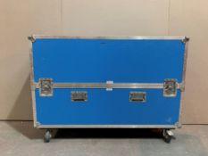 Single Flightcase for Lot 18 - 1410 x 1005 x 385mm.