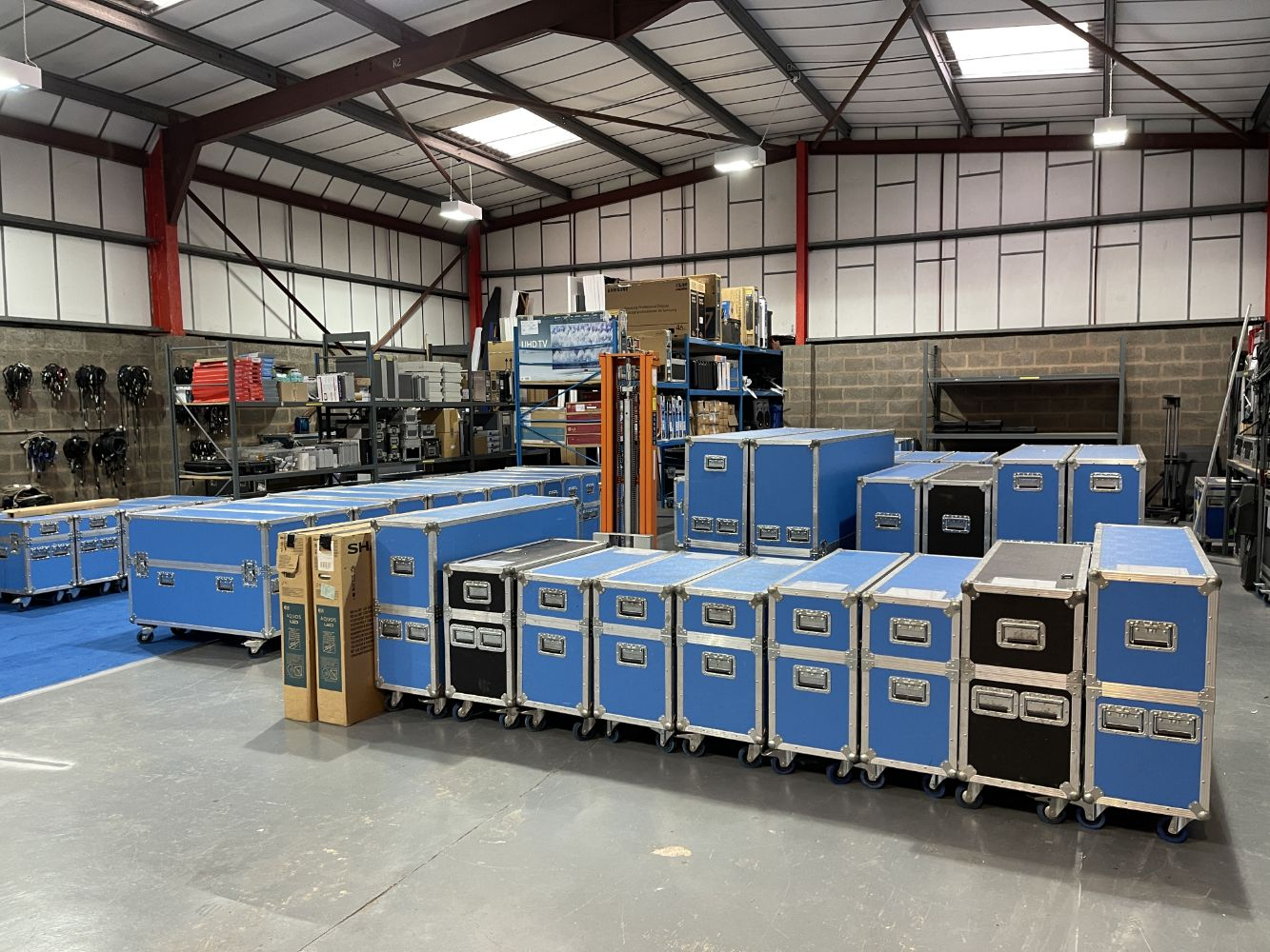 Assets Formerly Utilised by PPL Event Services Ltd Which Are Surplus to the Ongoing Business  - Exceptional Audio Visual Equipment Sale
