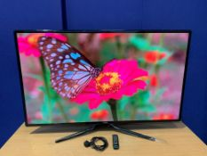 "Samsung 60"" 1920 x 1080 LED Screen with Desk Mount, IEC and Remote Control,2 x HDMI,USB. For"