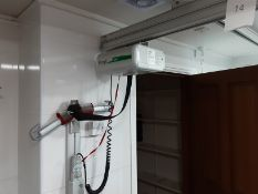 Likorall 242S R2R 200kg Patient Lift with KwikTrak Ceiling Rail System Serial No: 275558