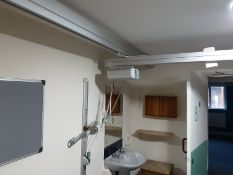 Likorall 200kg Patient Lift with KwikTrak Ceiling Rail System Serial No: 8707849