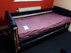 Pentaflex Motorised Single Bed Serial No: 245746 Lolertested Exp 01.04.21