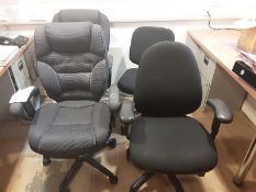4: Various Office Chairs