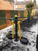 3: Outdoor Fresh Air Fitness Equipment (Needs Dismantling)